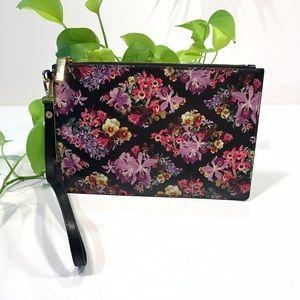 Ted Baker London Floral Wristlet/Clutch
